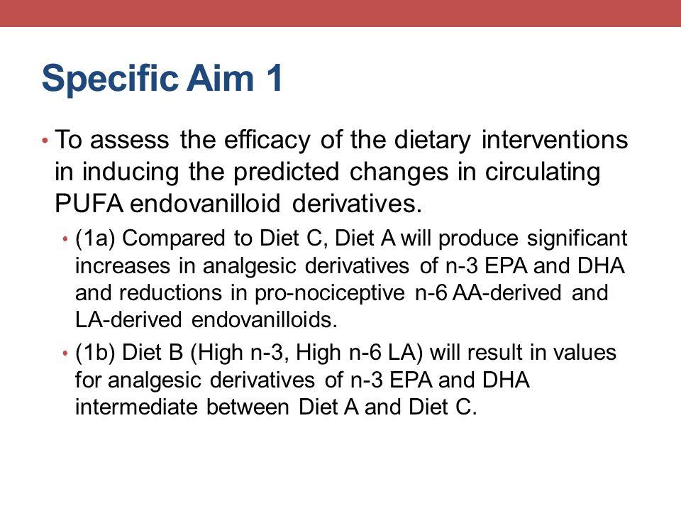 Measures-Biochemical AnalyteFormulaMethod n-6 fatty acids LA18:2 n-6GC AA20:4 n-6GC DTA22:4 n-6GC DPA n-622:5 n-6GC n-3 fatty acids ALA18:3 n-3GC EPA20:5 n-3GC DPA (n-3)22:5 n-3GC DHA22:6 n-3GC Omega-3 IndexEPA + DHAGC Other fatty acids Palmitic acid16:0GC Oleic acid18:1 n-9GC Precursor Endovanilloids (LA and AA-derived TRPV1 agonists) 9-HODELALC/MS/MS 13-HODELALC/MS/MS 9-oxoODELALC/MS/MS 13-oxoODELALC/MS/MS 12-HETEAALC/MS/MS 15-HETEAALC/MS/MS