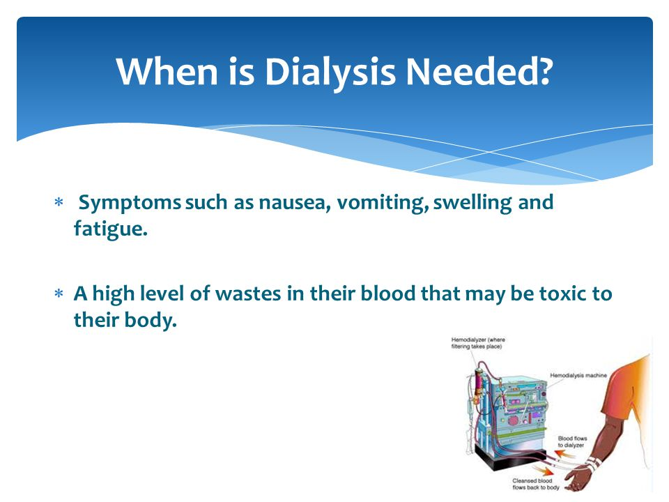 Patient on hemodialysis diet will have restrictions in foods containing high amounts of phosphorus, sodium and potassium.
