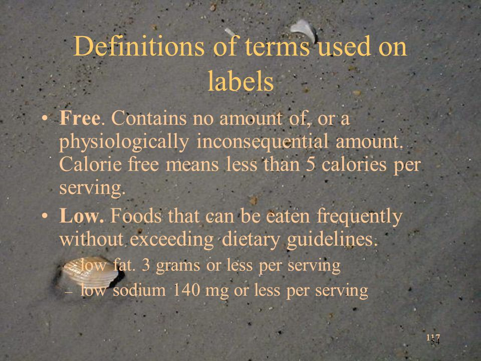 117 54 Definitions of terms used on labels Free.
