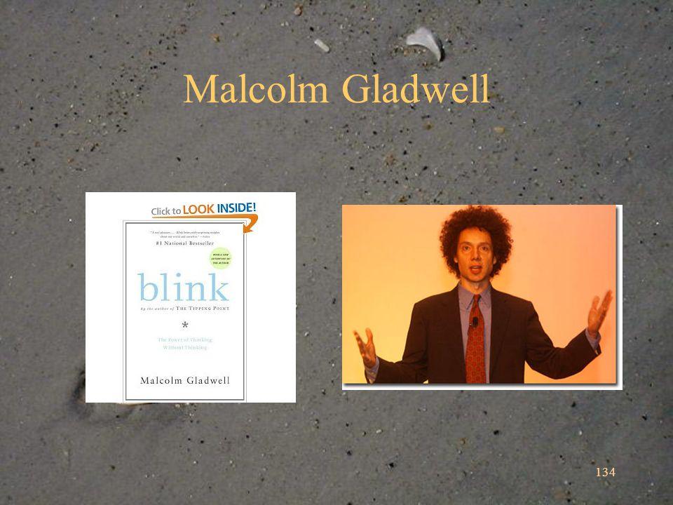 Malcolm Gladwell 134