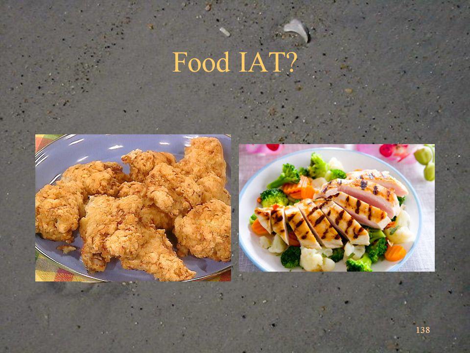 Food IAT? 138