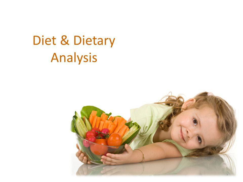 1 Diet & Dietary Analysis