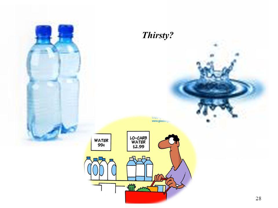 28 Thirsty