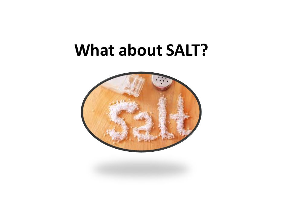 What about SALT?