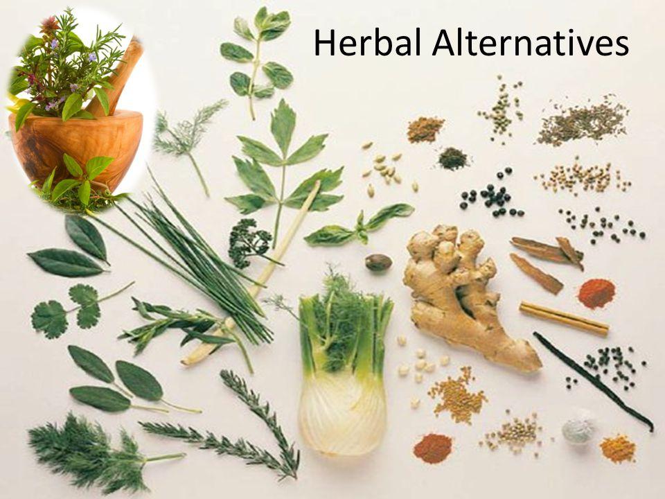 41 Herbal Alternatives