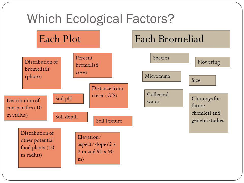 Which Ecological Factors.