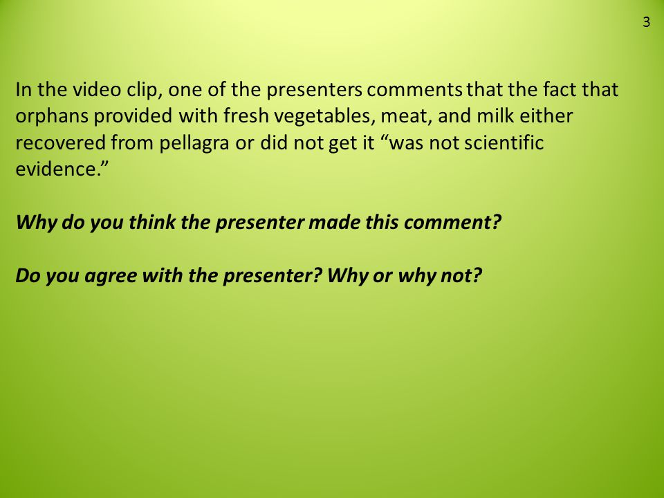 Analysis Question 6 To investigate his hypothesis, Dr.
