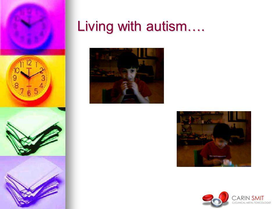 Living with autism….