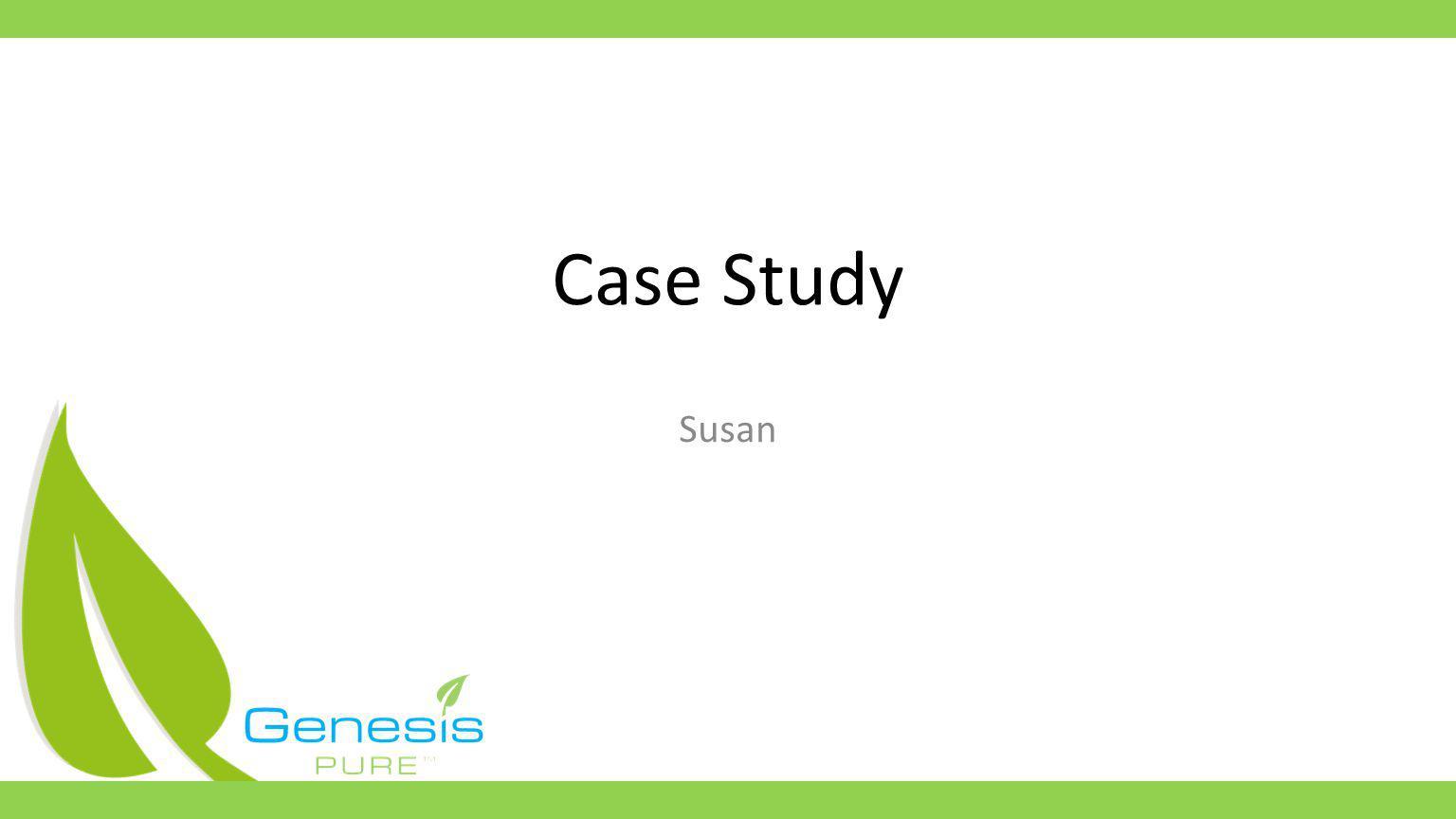 Case Study Susan