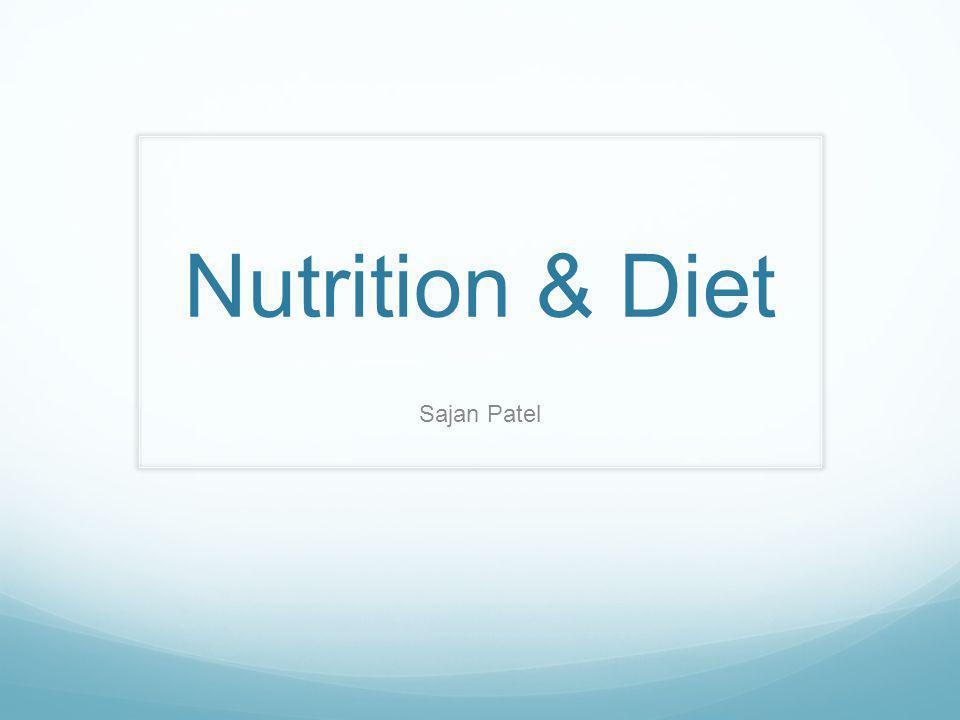 Nutrition & Diet Sajan Patel