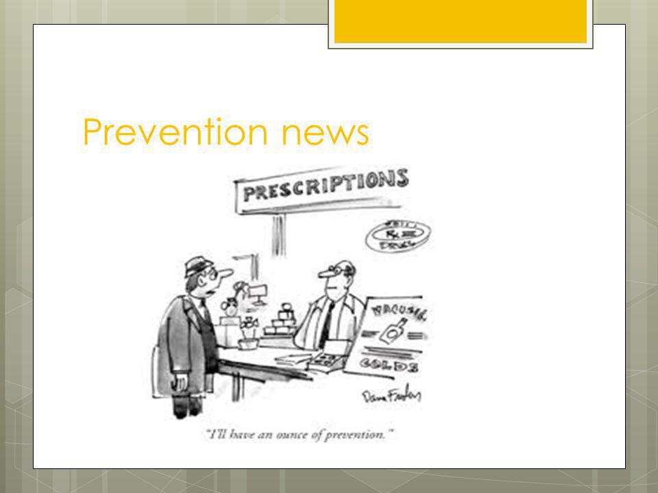 Prevention news