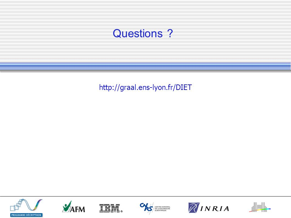 Questions http://graal.ens-lyon.fr/DIET