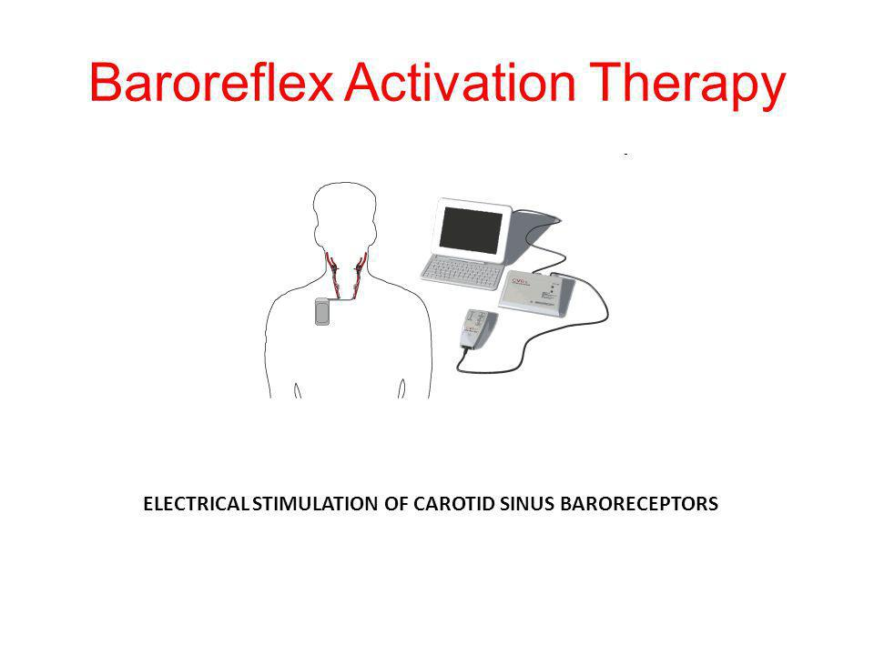 Baroreflex Activation Therapy ELECTRICAL STIMULATION OF CAROTID SINUS BARORECEPTORS
