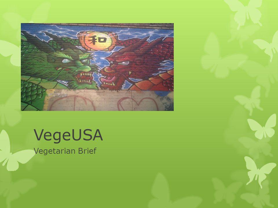 VegeUSA Vegetarian Brief