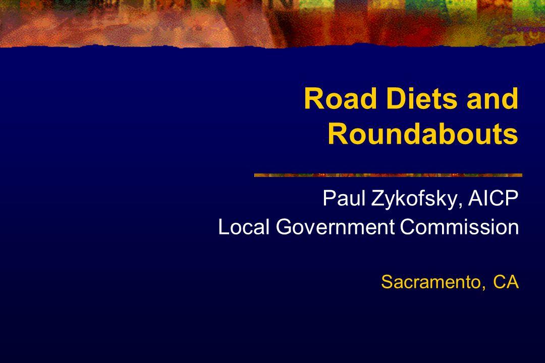 Classic Road Diet San Antonio TX 4 to 3 lanes