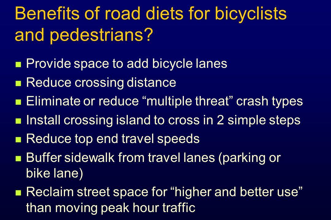 23% Increase Before/after studies: 6. Pedestrian volumes