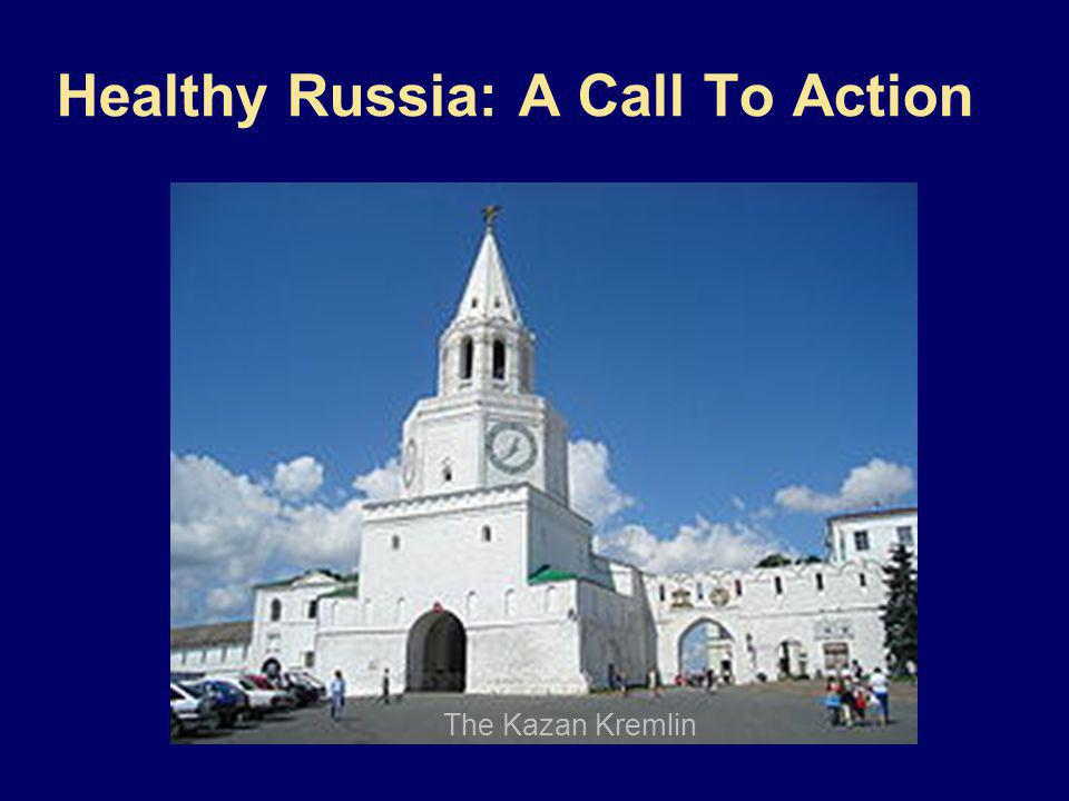 Healthy Russia: A Call To Action The Kazan Kremlin