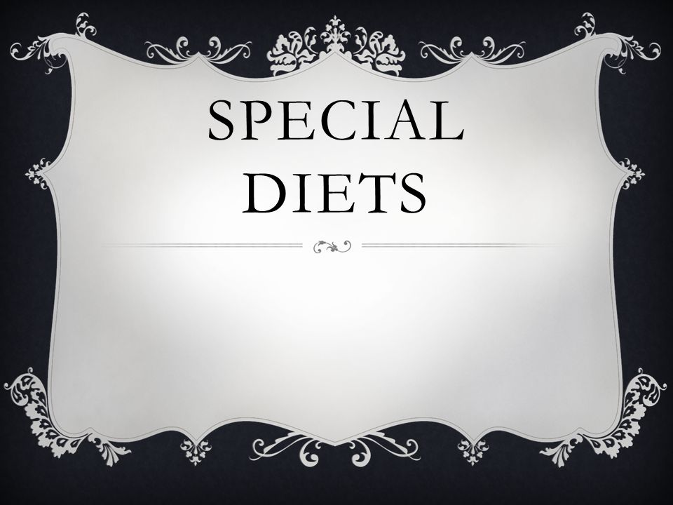 VEGETARIAN DIET Types of vegetarian diets When people think about a vegetarian diet, they typically think about a diet that doesn t include meat, poultry or fish.