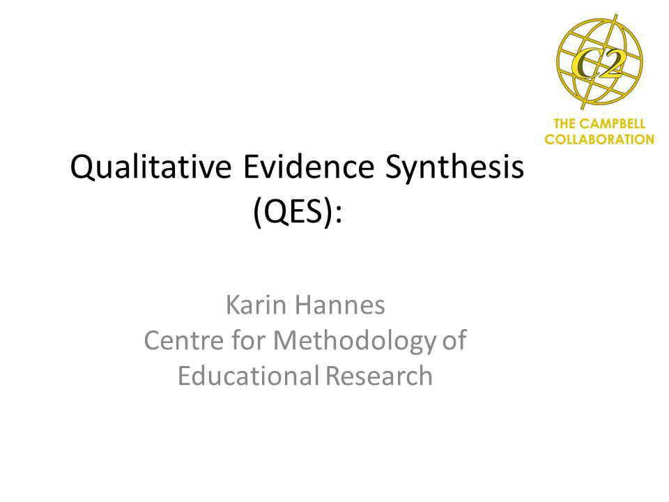 Systematic Reviews Could I still use the methodology outlined for SR to answer these questions.
