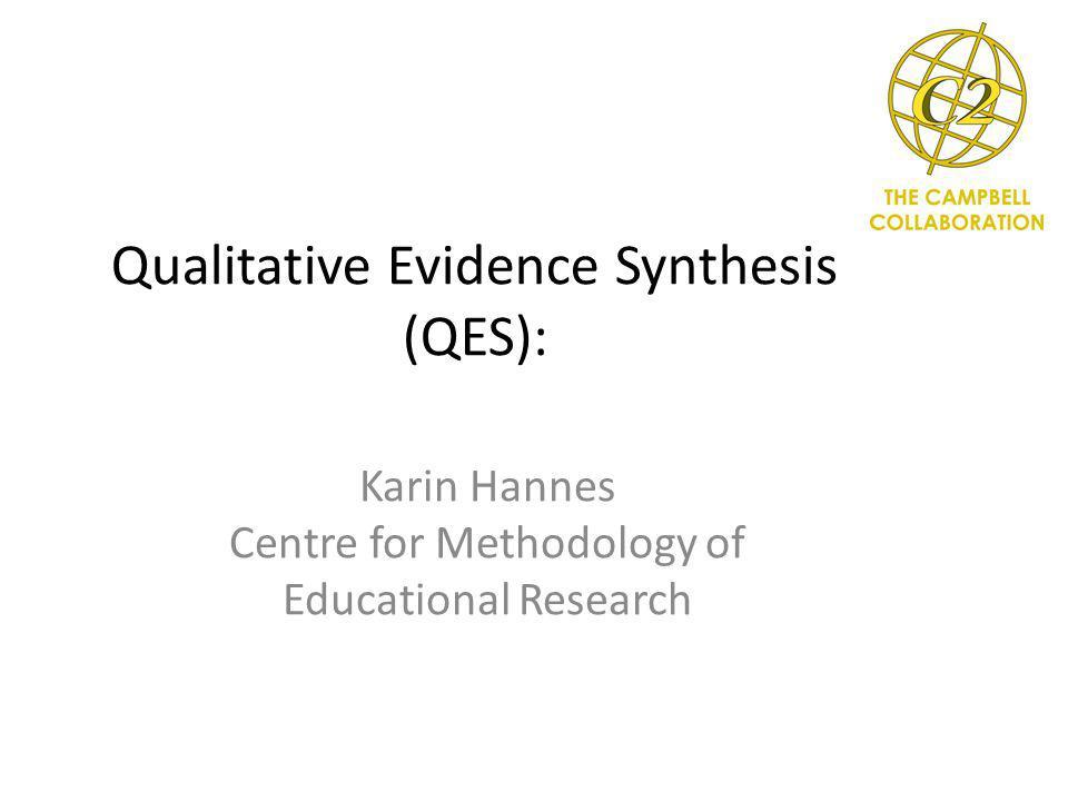 Context-specific versus multi-context syntheses Quantitative ReviewQualitative Review