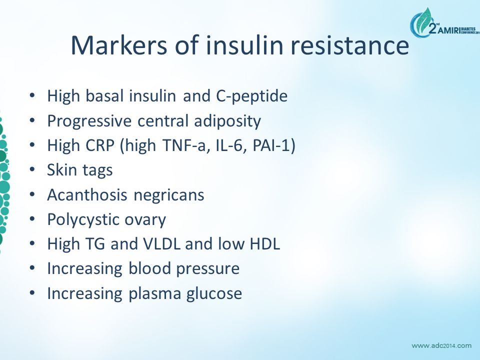 How to modify insulin resistance?