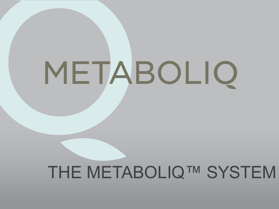 THE METABOLIQ SYSTEM