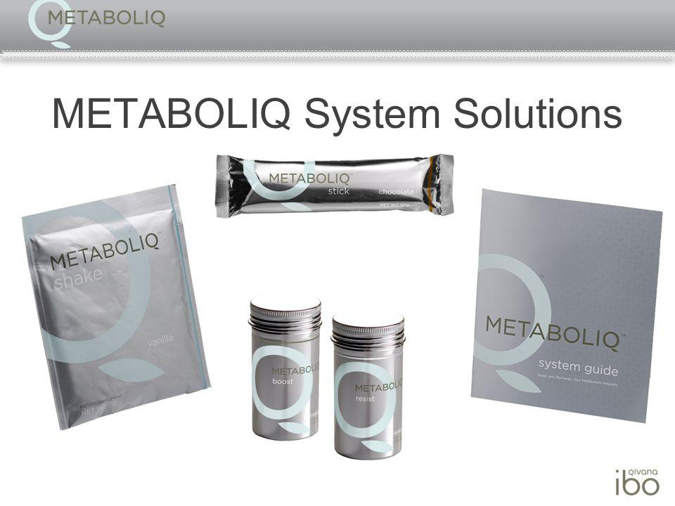 METABOLIQ System Solutions