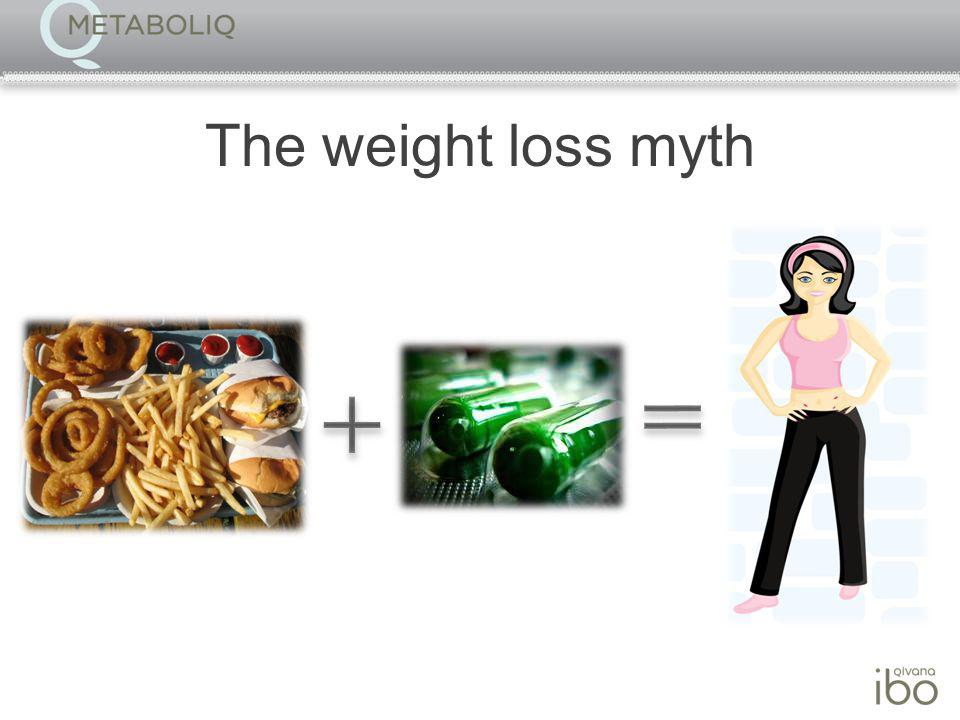 The weight loss truth