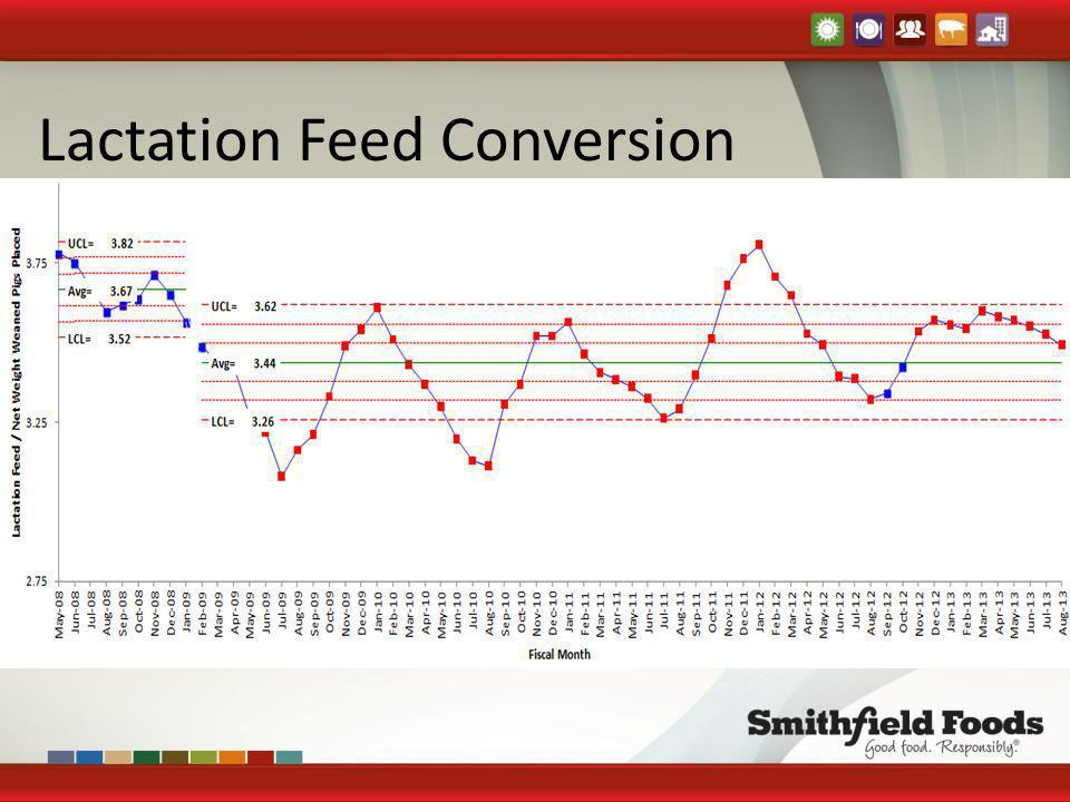 Lactation Feed Conversion