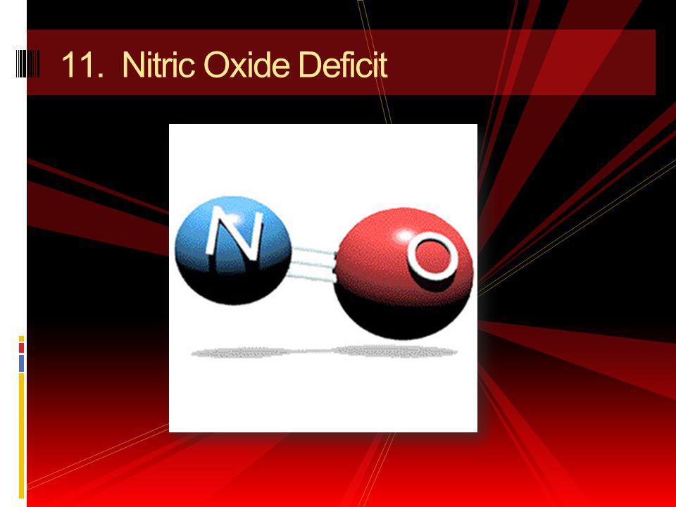 11. Nitric Oxide Deficit