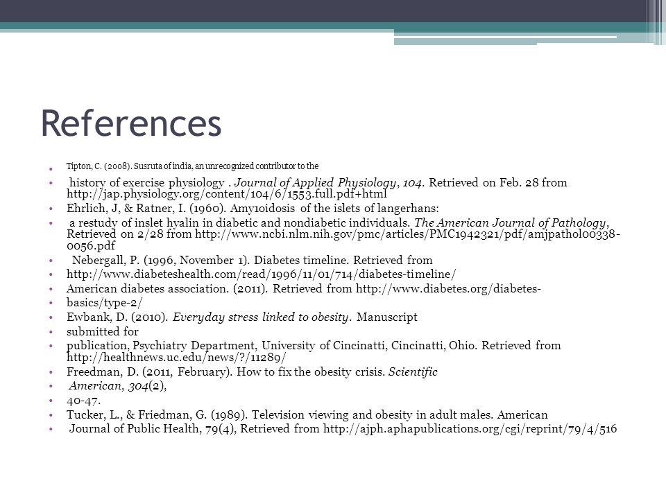 References Tipton, C. (2008).