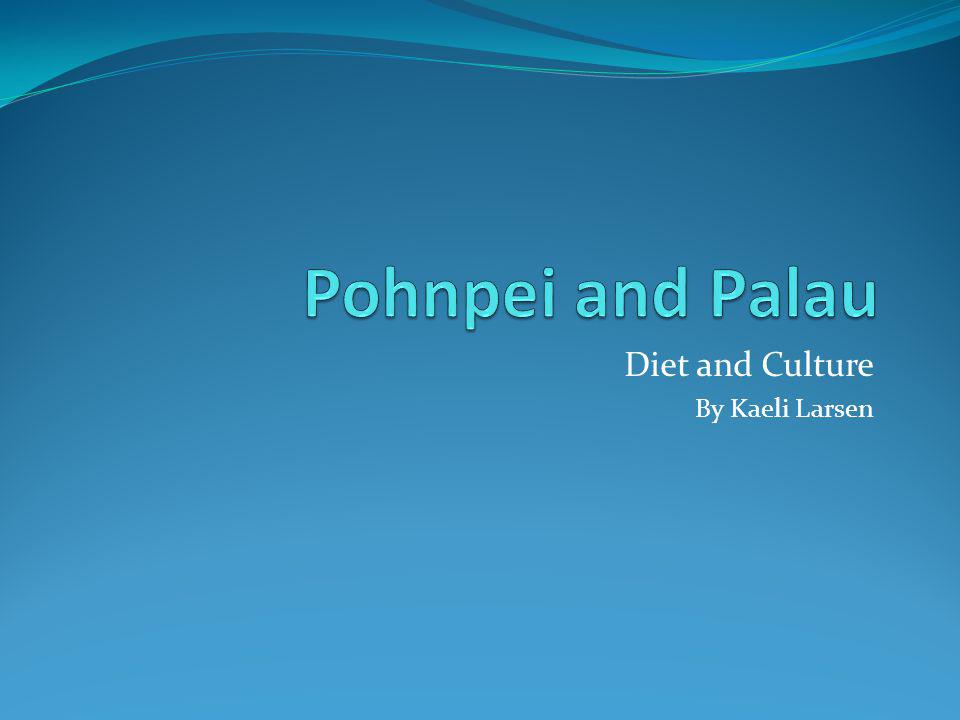 Diet and Culture By Kaeli Larsen