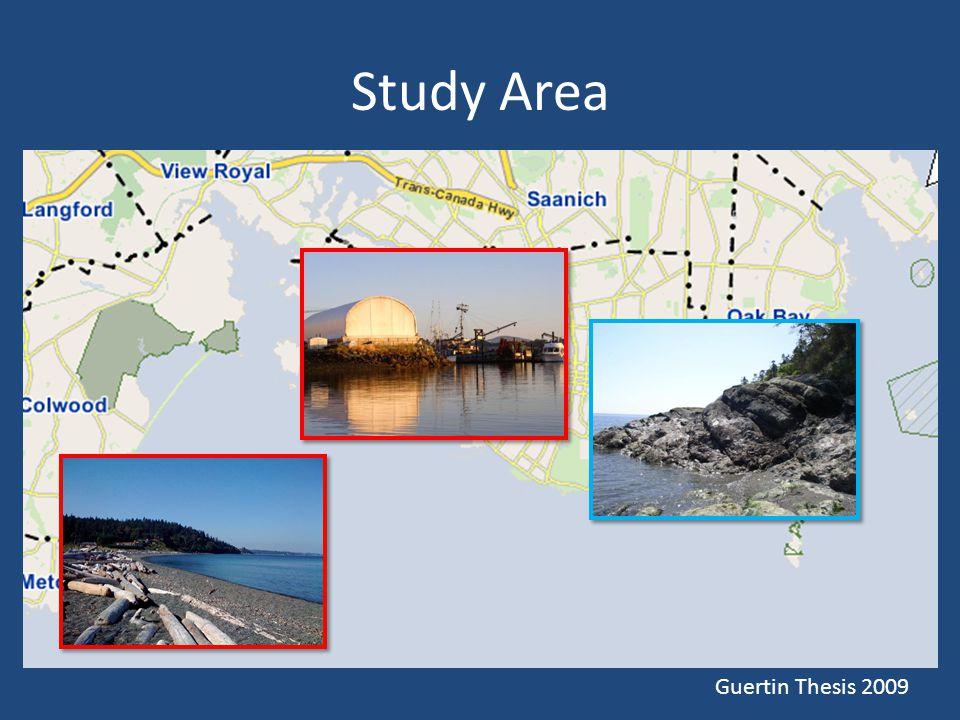 Study Area Guertin Thesis 2009