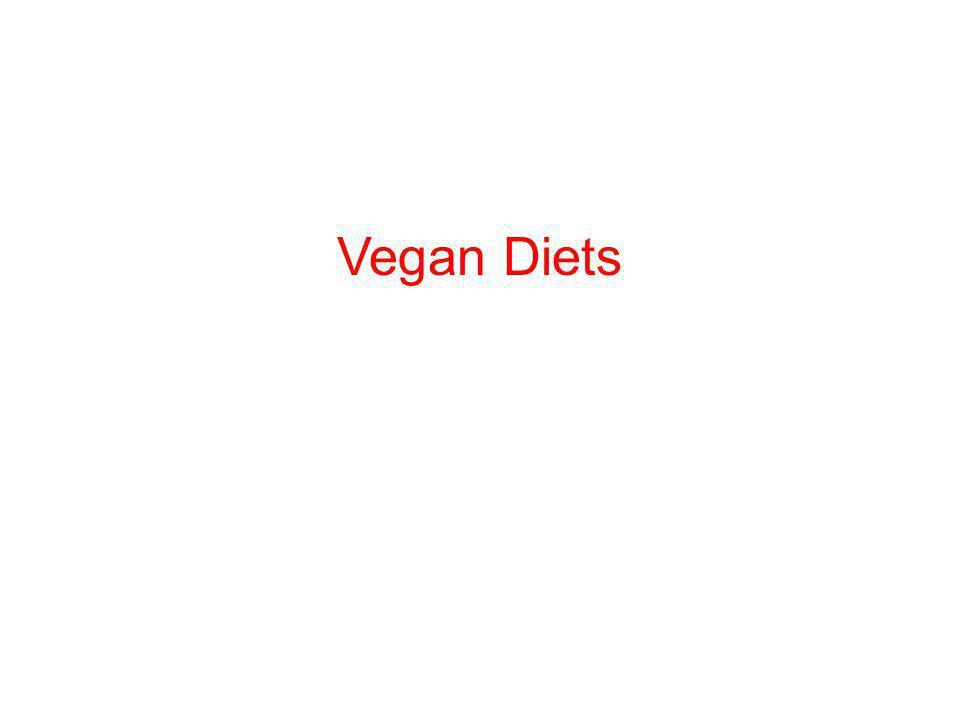 Vegan Diets