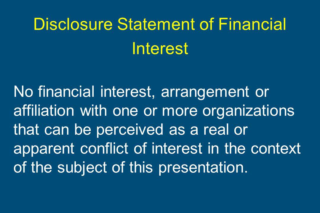 Brussels, Milk & Health 2011 Disclosure Statement of Financial Interest No financial interest, arrangement or affiliation with one or more organizations that can be perceived as a real or apparent conflict of interest in the context of the subject of this presentation.