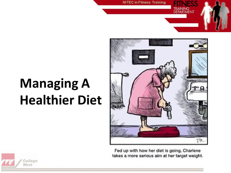 Managing A Healthier Diet