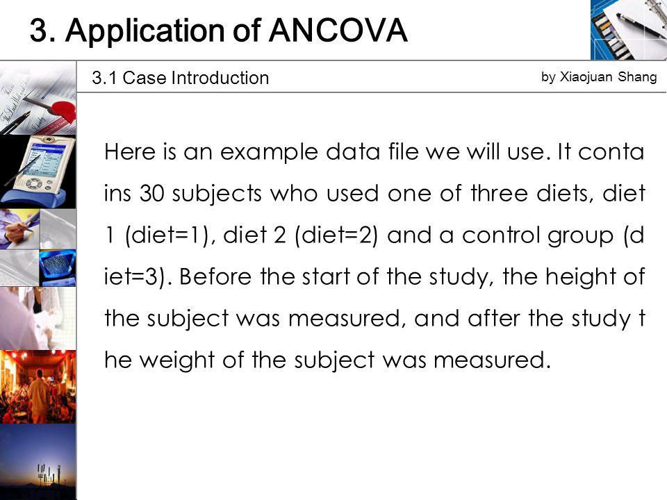 3.1 Case Introduction by Xiaojuan Shang 3.