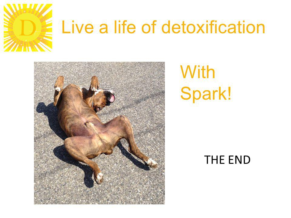 D Live a life of detoxification THE END With Spark!