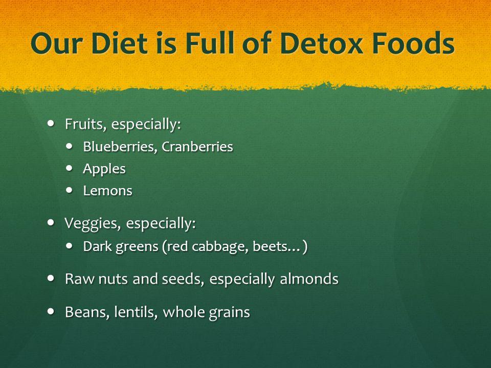 Top 13 Detox Foods ALMONDS Detox essential.