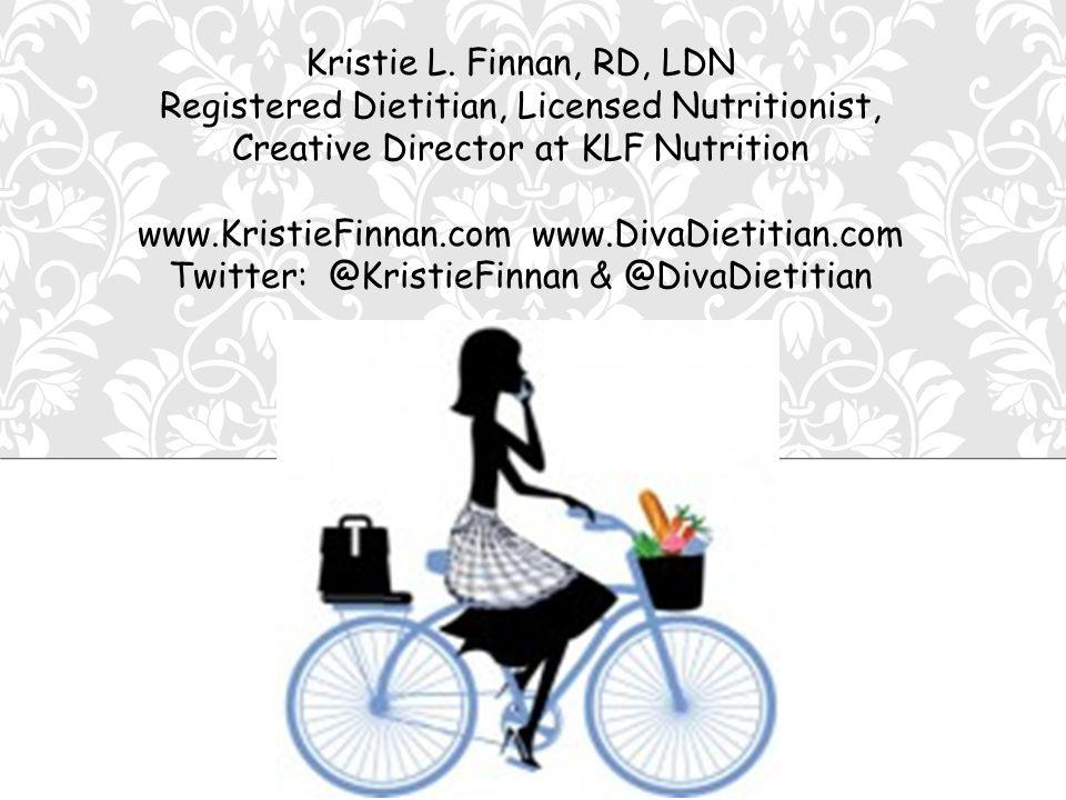 KRISTIE L.FINNAN, RD, LDN KLF NUTRITION Blue Cross offers 6 FREE Nutrition Consults/year.