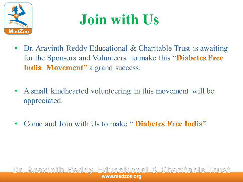 www.medzon.org Join with Us