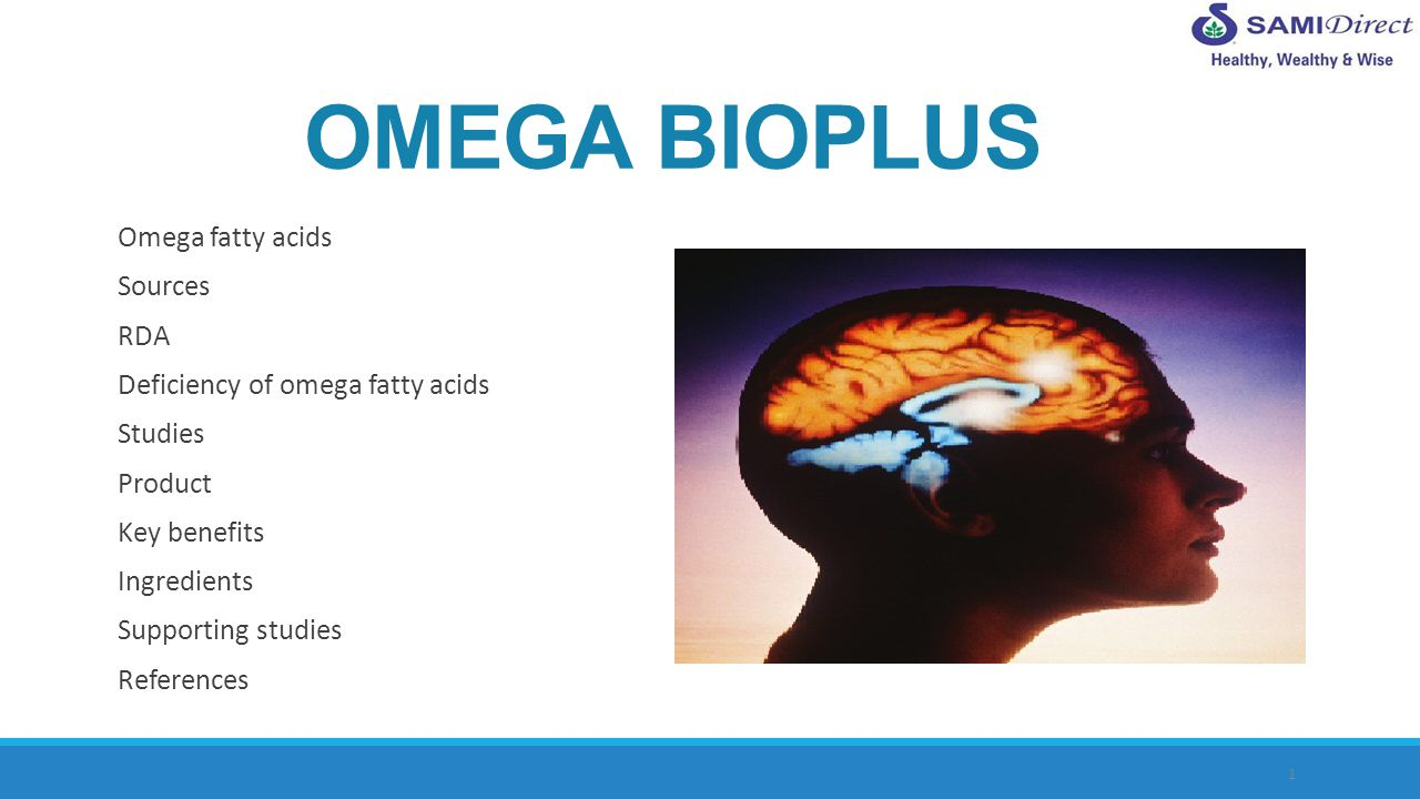 2 ALA, Alpha-Linoleic Acid DHA, Docosahexanoic Acid EPA, Eicosapentaenoic Acid DHA and EPA are the most important ones people should definitely include in their diets Omega fatty acids consist of: Omega fatty acids are essential fatty acids.Our body cannot synthesise them, so they must be consumed in the diet.