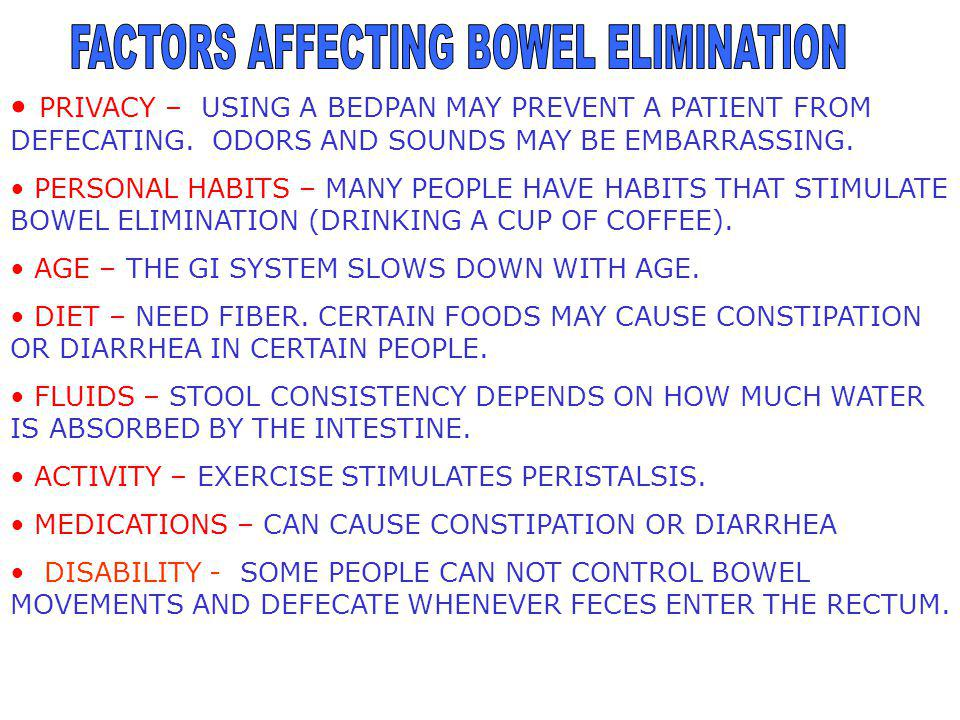 CONSTIPATION – THE PASSAGE OF A HARD, DRY STOOL.