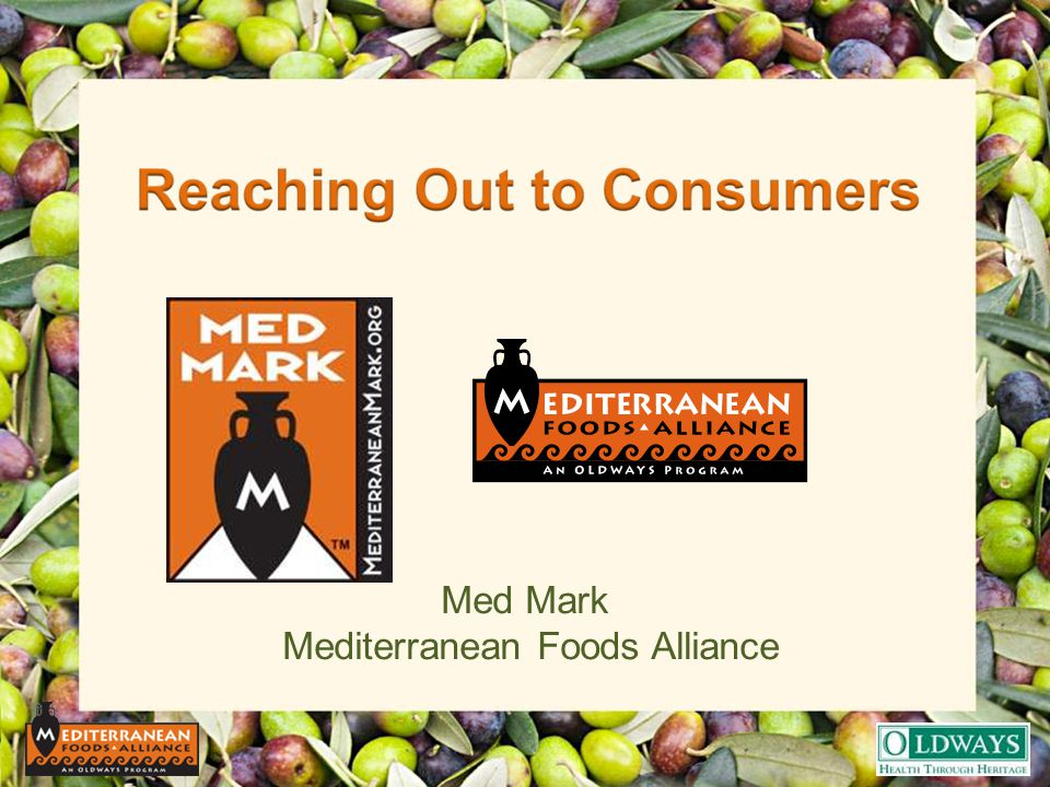 Med Mark Mediterranean Foods Alliance
