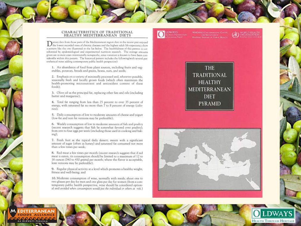 The Mediterranean Diet 10 th Anniversary, 2003