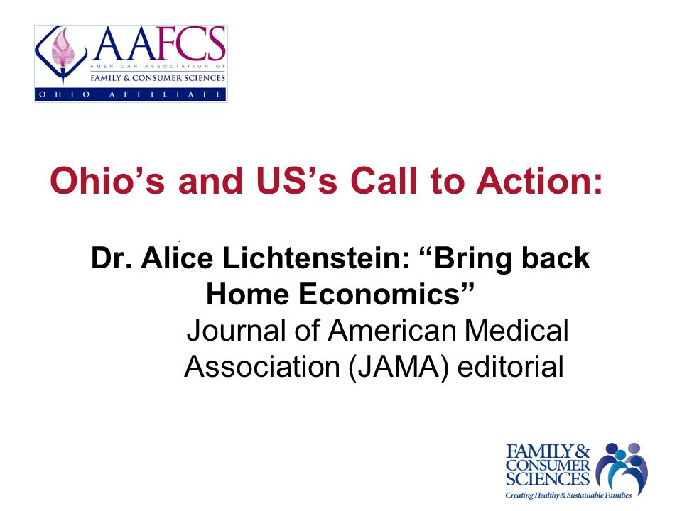 Ohios and USs Call to Action: Dr.