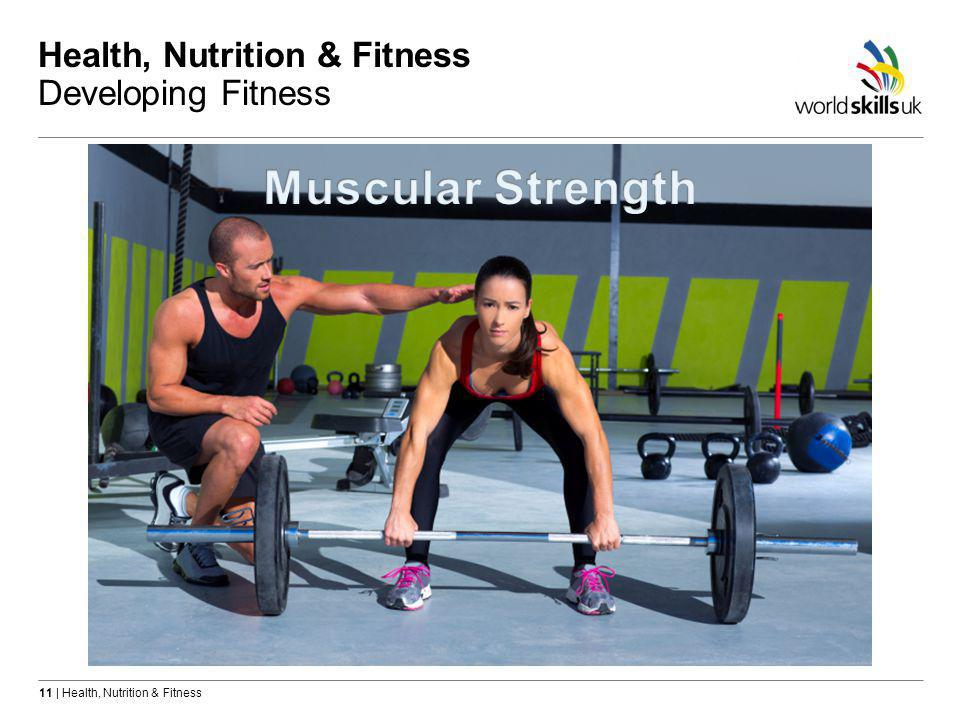 11 | Health, Nutrition & Fitness Health, Nutrition & Fitness Developing Fitness