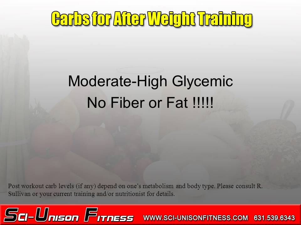 Moderate-High Glycemic No Fiber or Fat !!!!.