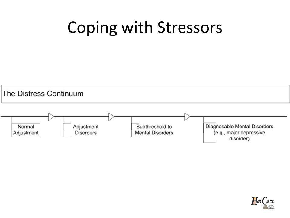 Coping with Stressors