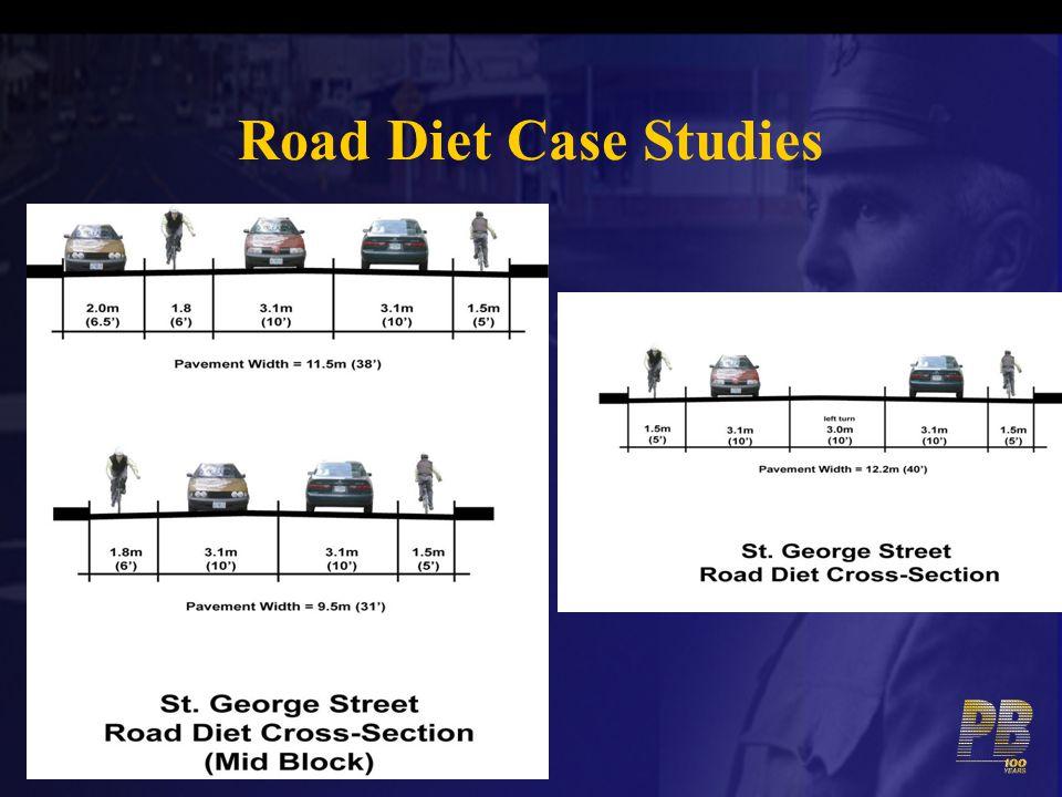 Road Diet Case Studies